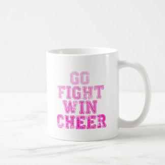 Go, Fight, Win - Cheer Coffee Mugs