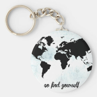 Go find yourself key ring