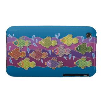 Go Fish Blue Case-Mate iPhone 3 Cases