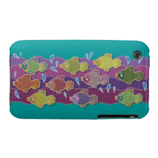 Go Fish Blue iPhone 3 Covers