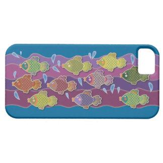 Go Fish Blue iPhone 5 Case