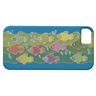 Go Fish Blue iPhone 5 Cover