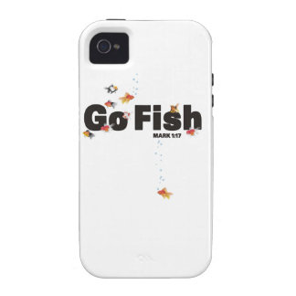 Go Fish Vibe iPhone 4 Cover