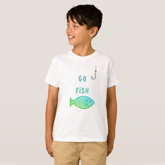 'Go Fish' Design for young adults T-Shirt