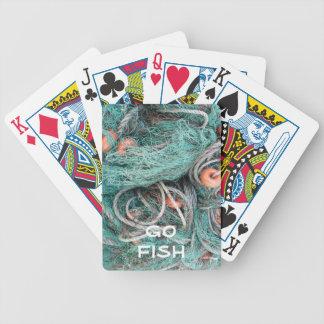 """Go Fish"" Fishing Net Playing Cards"