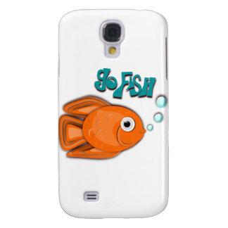 Go Fish Goldfish Galaxy S4 Cases