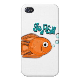 Go Fish Goldfish Cases For iPhone 4