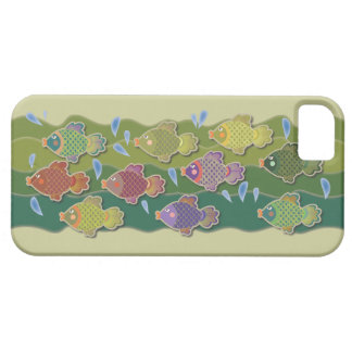 Go Fish Green iPhone 5 Cases