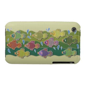 Go Fish Green Case-Mate iPhone 3 Case