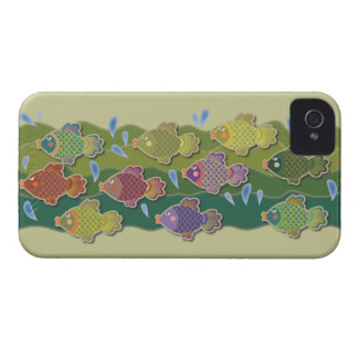 Go Fish Green iPhone 4 Cases