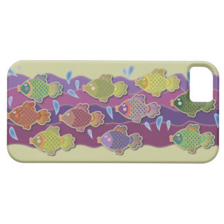 Go Fish Green iPhone 5 Case