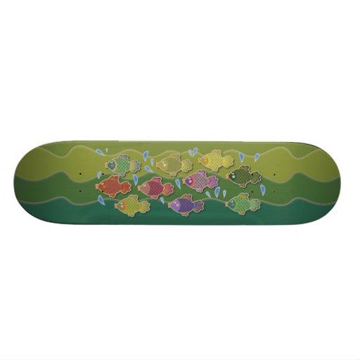 Go Fish Green Skateboard