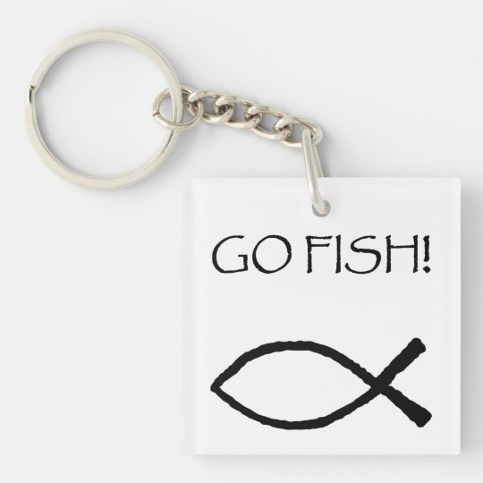 Go Fish Key Ring