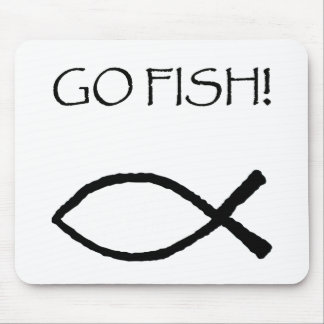 Go Fish Mouse Pad