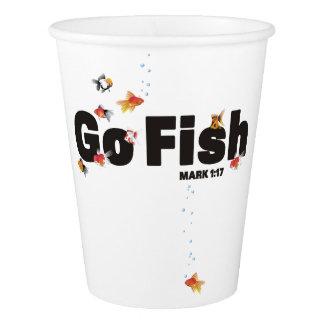 Go Fish Paper Plates Paper Cup