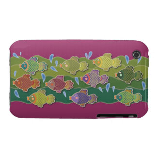 Go Fish Pink iPhone 3 Case-Mate Case
