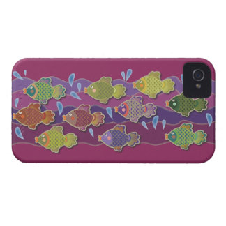 Go Fish Pink iPhone 4 Case-Mate Cases