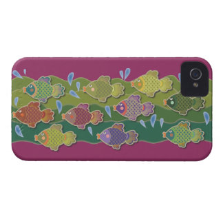 Go Fish Pink iPhone 4 Cases