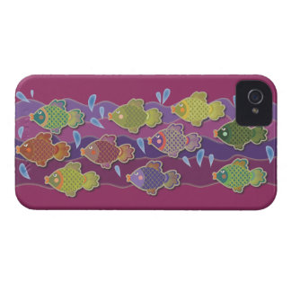 Go Fish Pink iPhone 4 Cover