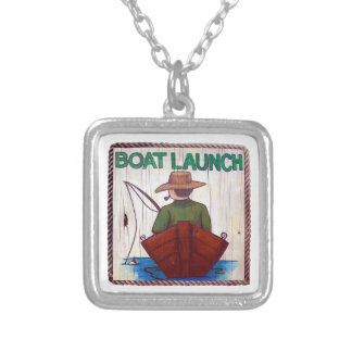 Go Fishing Boat Launch Necklace