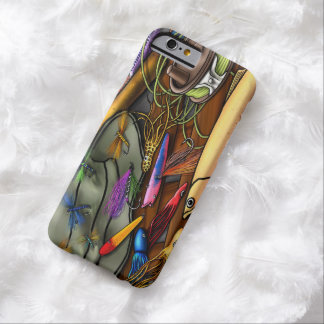 Go Fishing, with Name Option Barely There iPhone 6 Case