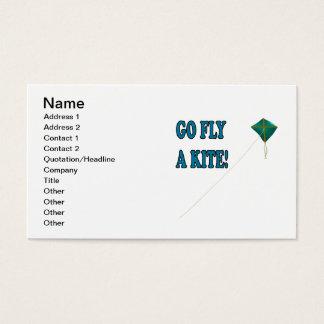 Go Fly A Kite 2 Business Card