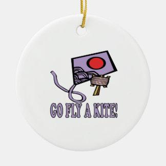 Go Fly A Kite 3 Christmas Ornament