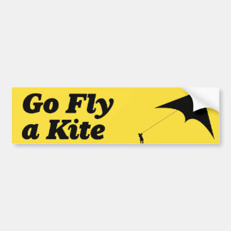 go-fly-a-kite bumper sticker