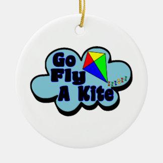 Go Fly A Kite Christmas Ornament