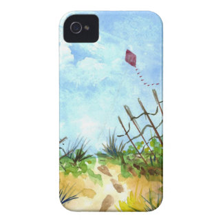 Go Fly A Kite - watercolor iPhone 4 Covers