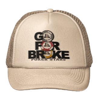 go for broke poker hat