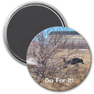 Go For It! Refrigerator Magnet