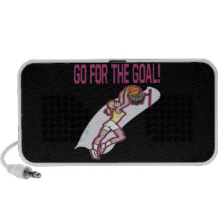 Go For The Goal Notebook Speakers