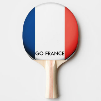 GO FRANCE PING PONG PADDLE