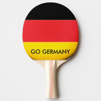 GO GERMANY PING PONG PADDLE