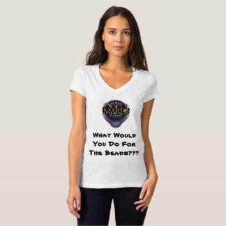 GO-GO Mardi Gras Women's Tshirt