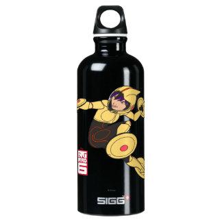 Go Go Tomago Yellow Suit Water Bottle