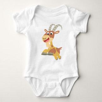 Go Goat!! (cute cartoon goat) Baby Apparel Baby Bodysuit
