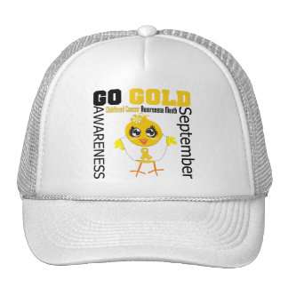 Go Gold For Childhood Cancer Awareness Month Cap