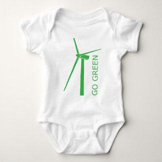 Go Green babysuit Baby Bodysuit