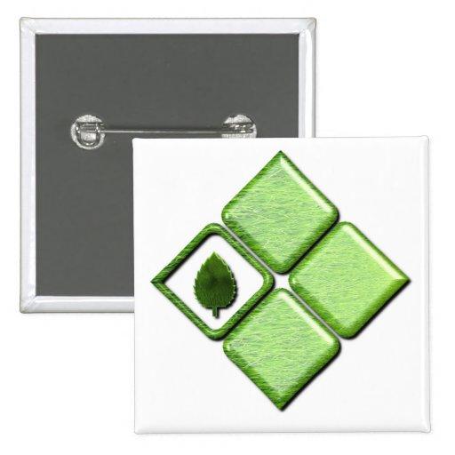 Go Green Pin