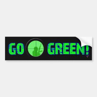 Go Green! Bumper Sticker