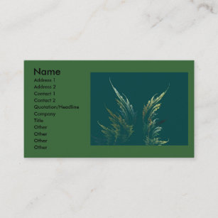 Go green business cards zazzle uk go green business card reheart Gallery