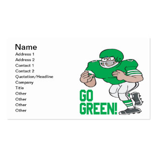 Go Green Pack Of Standard Business Cards