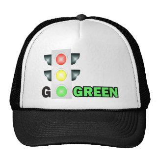 GO GREEN MESH HATS