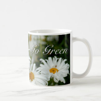 Go Green Daisies Mug
