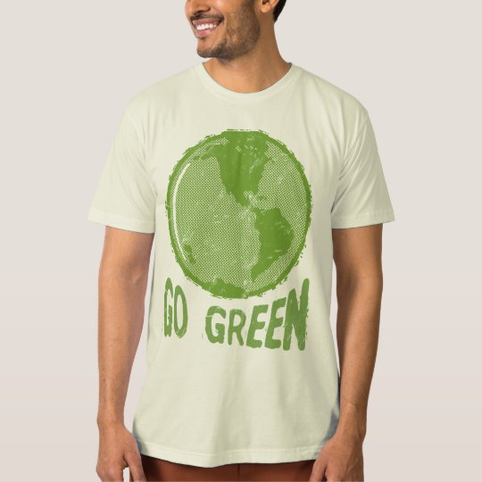 Go Green: Distressed Planet Earth! Save the World!