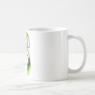 Go Green Dog Basic White Mug