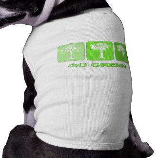 Go Green Doggie Tee