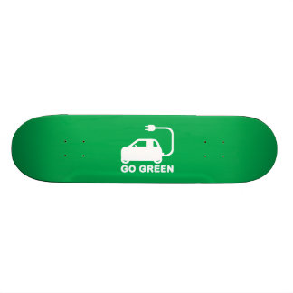 Go Green Drive Electric Cars Skate Decks